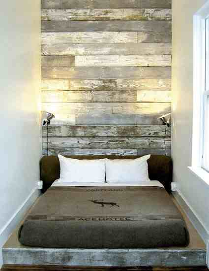 Homemade headboards burke decor blog for Reclaimed wood portland or